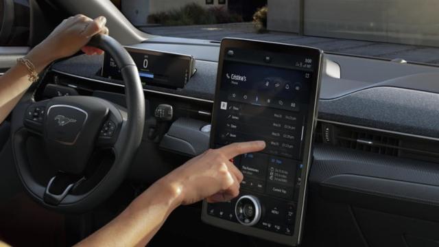 2021 Ford Mach-E First Edition interior