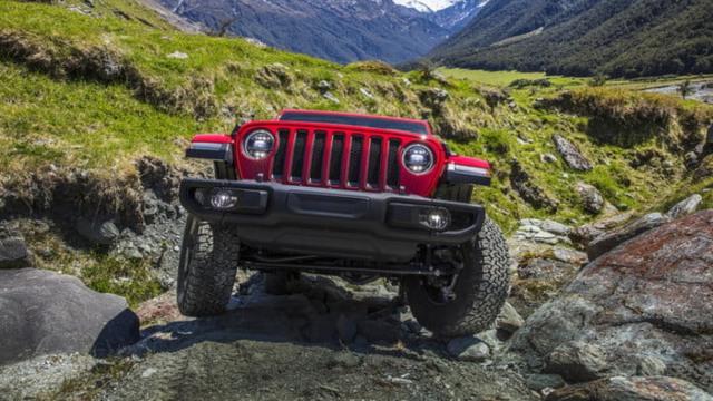 2021 Jeep Wrangler Hybrid grille