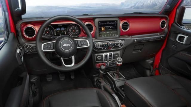 2021 Jeep Wrangler Hybrid interior