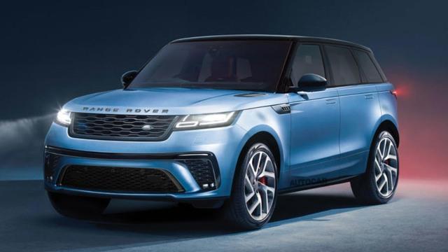 2021 Land Rover Range Rover Sport render