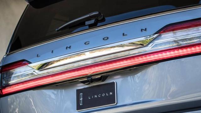 2021 Lincoln Navigator design