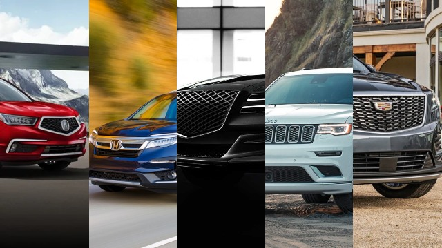 Most Reliable Mid-Size SUVs in 2021