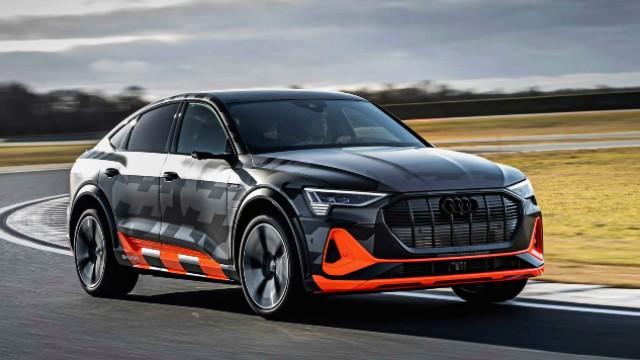2021 Audi e-Tron S facelift