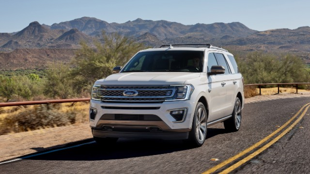 2021 Ford Expedition facelift