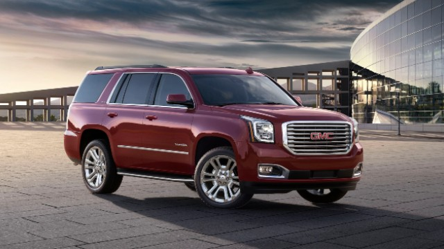 2021 GMC Yukon design