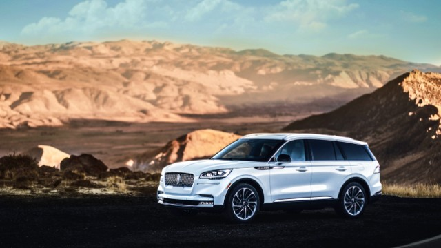 2021 Lincoln Aviator facelift