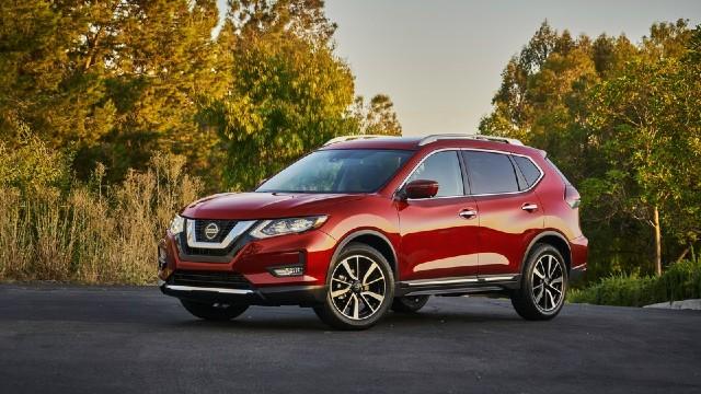 2021 Nissan Rogue facelift