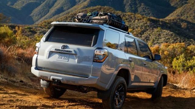2021 Toyota 4Runner Trail Edition facelift