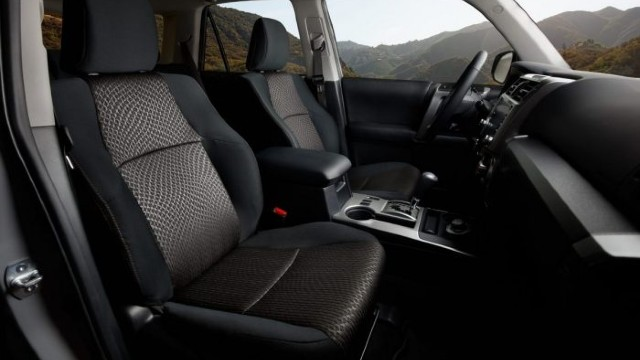 2021 Toyota 4Runner Trail Edition interior
