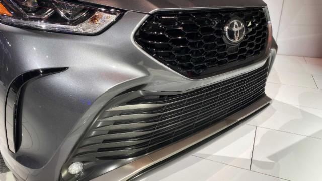 2021 Toyota Highlander XSE grille