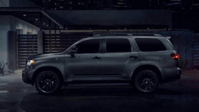 2021 Toyota Sequoia Nightshade design