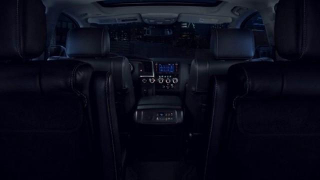 2021 Toyota Sequoia Nightshade interior