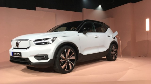 2021 Volvo XC40 Recharge design