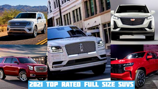 Best Full Size Suv 2021 2021 Top Rated Full Size SUVs   2021 SUVs