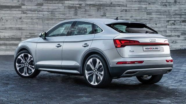 2021 Audi Q5 Sportback exterior