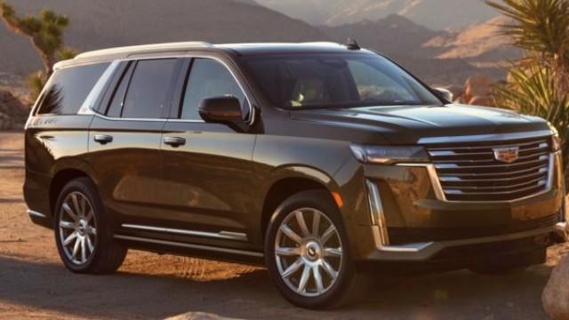 2021 Cadillac Escalade EV facelift