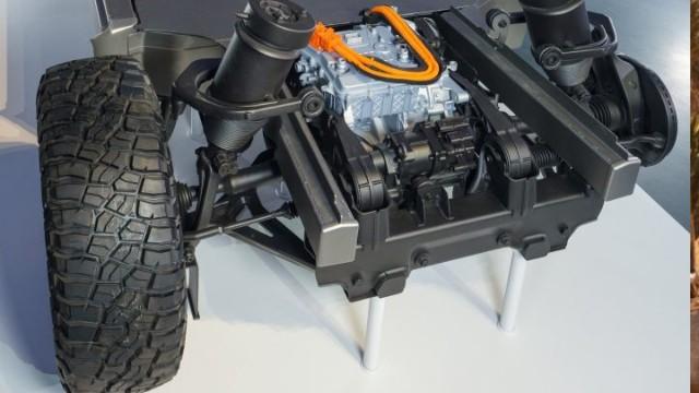 2021 Cadillac Escalade EV platform