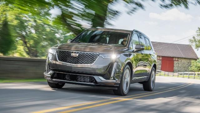 2021 Cadillac XT6 facelift