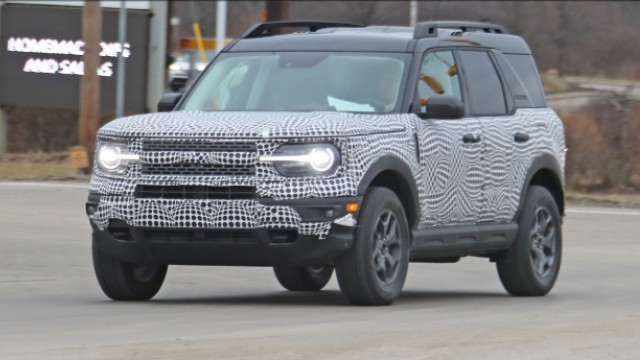 2021 Ford Bronco Sport spy shot