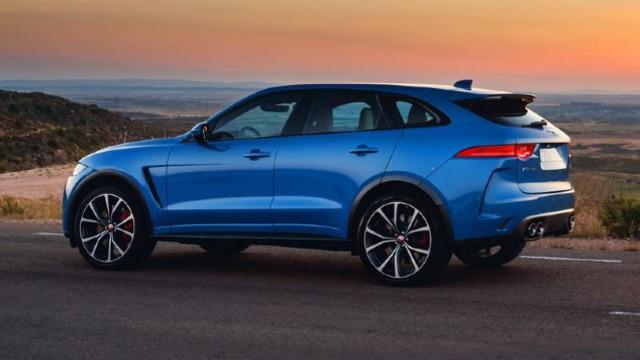 2021 Jaguar F-Pace SVR facelift