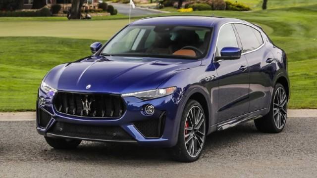 2021 Maserati Levante Trofeo exterior