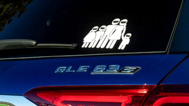 2021 Mercedes-AMG GLE 63 S sticker