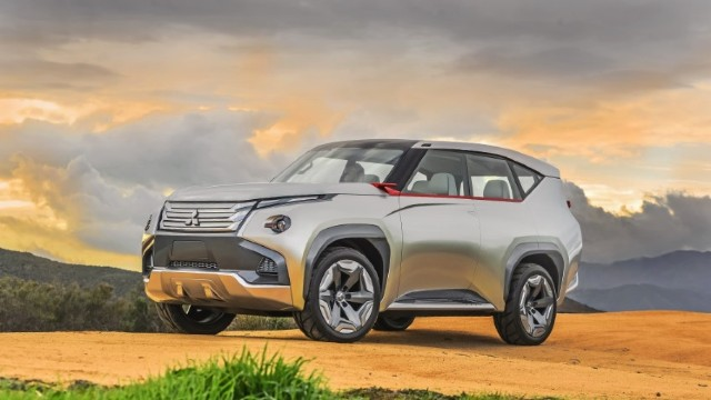 2021 Mitsubishi Pajero redesign
