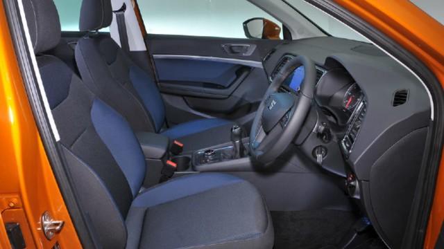 2021 Seat Ateca interior