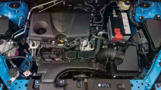 2021 Toyota RAV4 engine