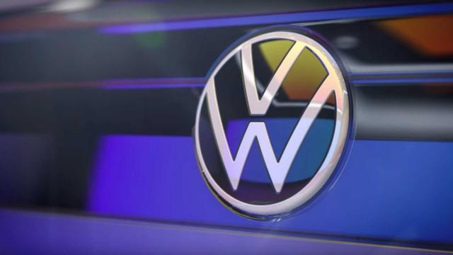 2021 VW Nivus emblem