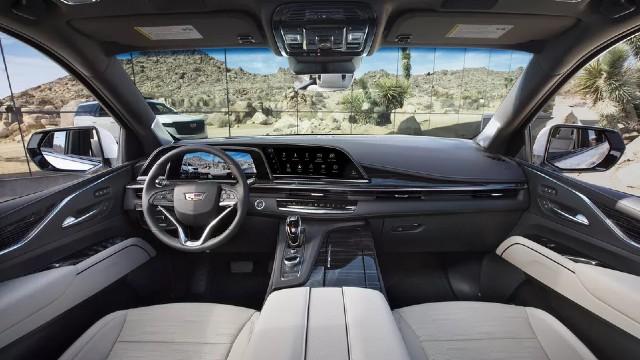 2021 Cadillac Escalade Diesel interior