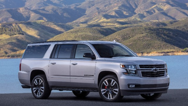 2021 Chevy Suburban RST exterior