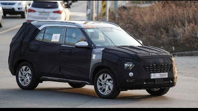 2021 Hyundai Creta spy photo