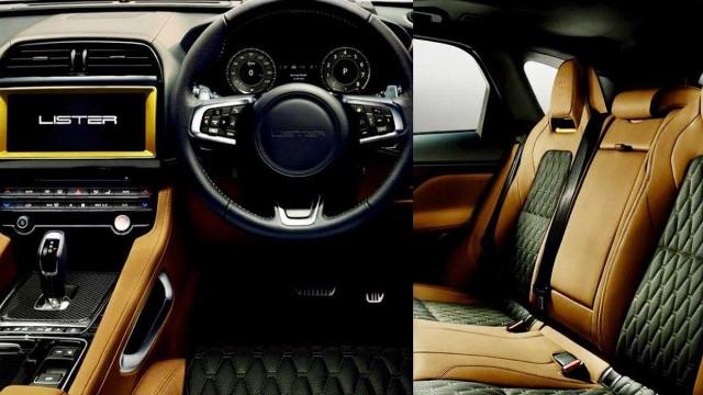 2021 Lister Stealth interior