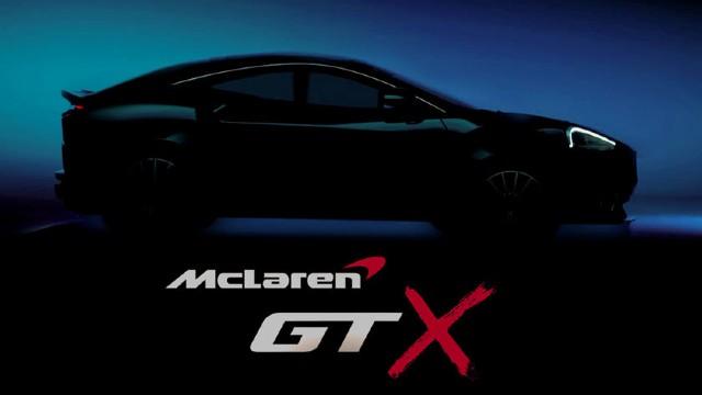 McLaren GTX SUV teaser