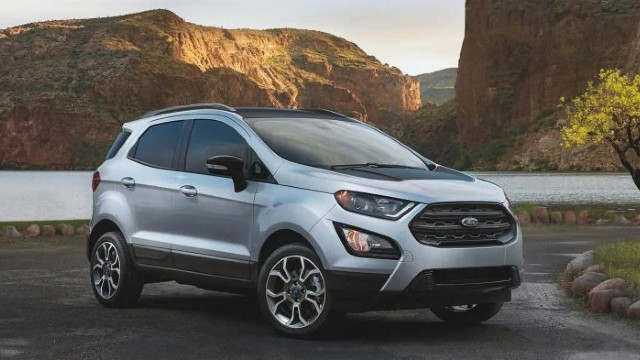 2021 Ford EcoSport facelift