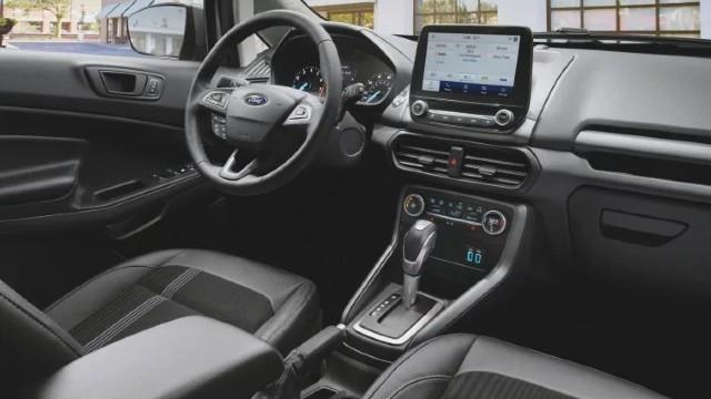 2021 Ford EcoSport interior