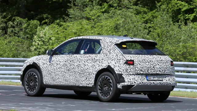 2021 Hyundai 45 spy shots