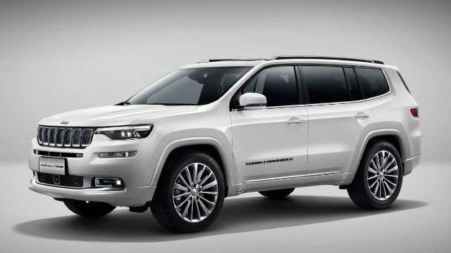 2021 Jeep Grand Compass rendered