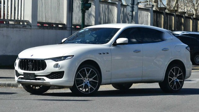 2021 Maserati Levante spied