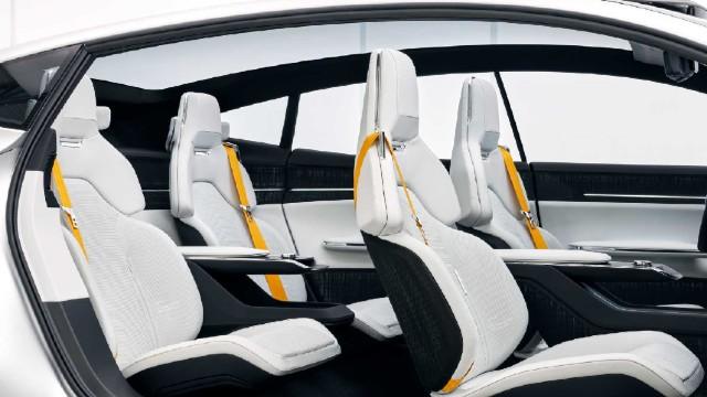 2021 Polestar 3 interior
