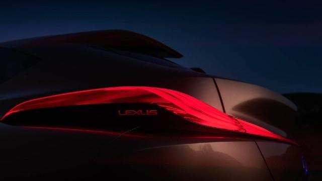 2022 Lexus LQ taillights