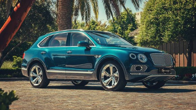 2021 Bentley Bentayga price