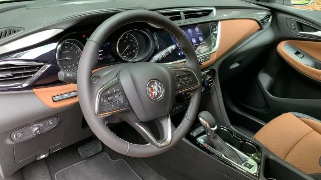 2021 Buick Encore GX interior