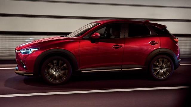 2021 Mazda CX-3 design