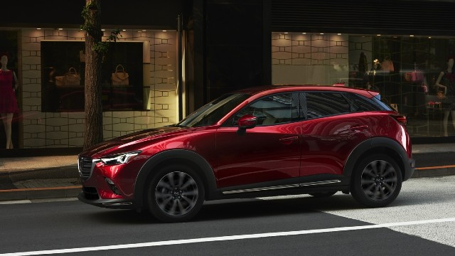 2021 Mazda CX-3 facelift