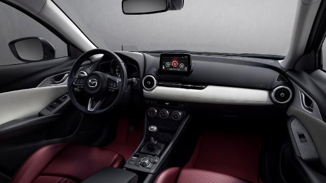 2021 Mazda CX-3 interior
