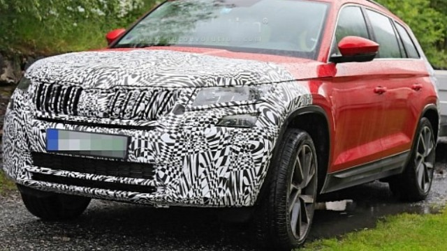 2021 Skoda Kodiaq RS spy photos
