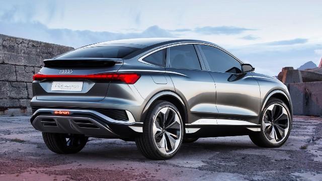 2021 Audi Q4 Sportback e-tron design