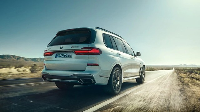 2021 BMW X7 changes